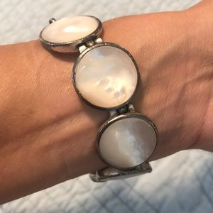Kenneth Cole Mother of Pearl Bracelet